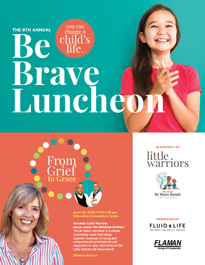 Be Brave Luncheon - event overview